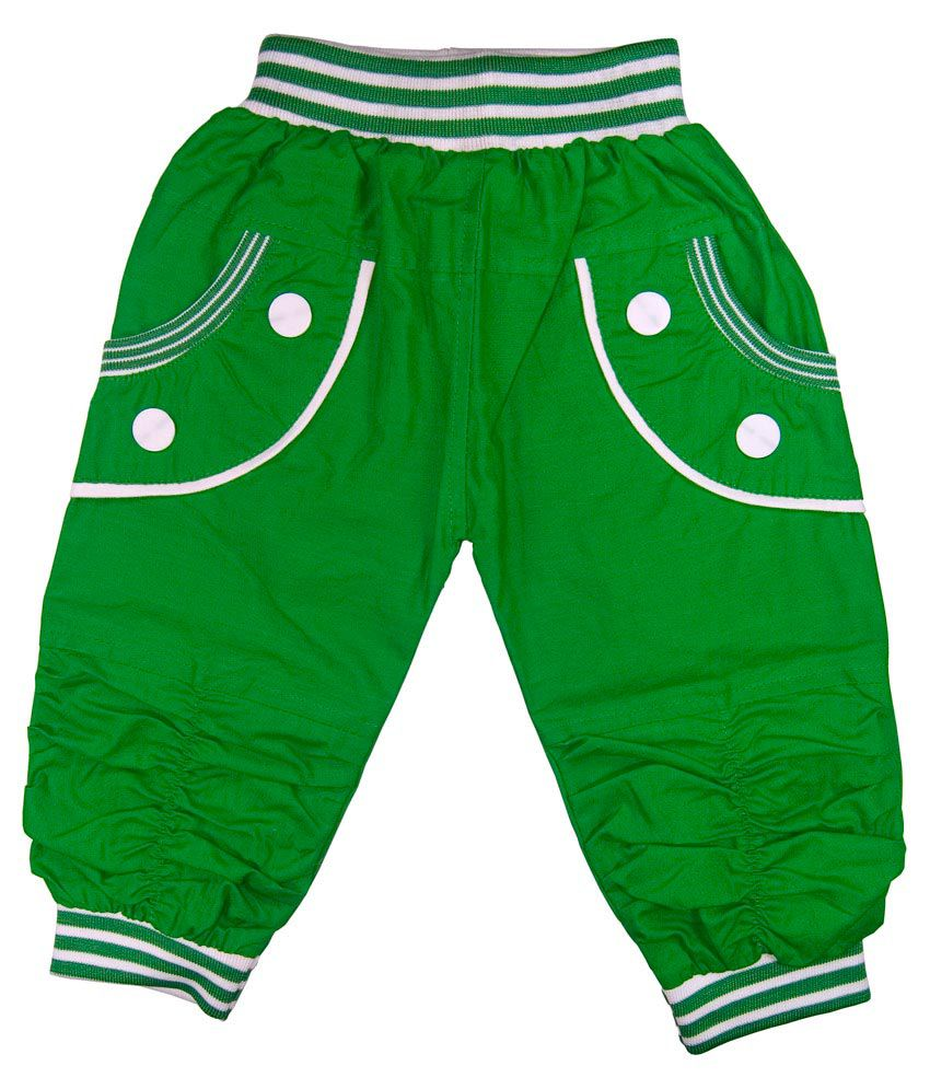 Retaaz Green Cotton Capri