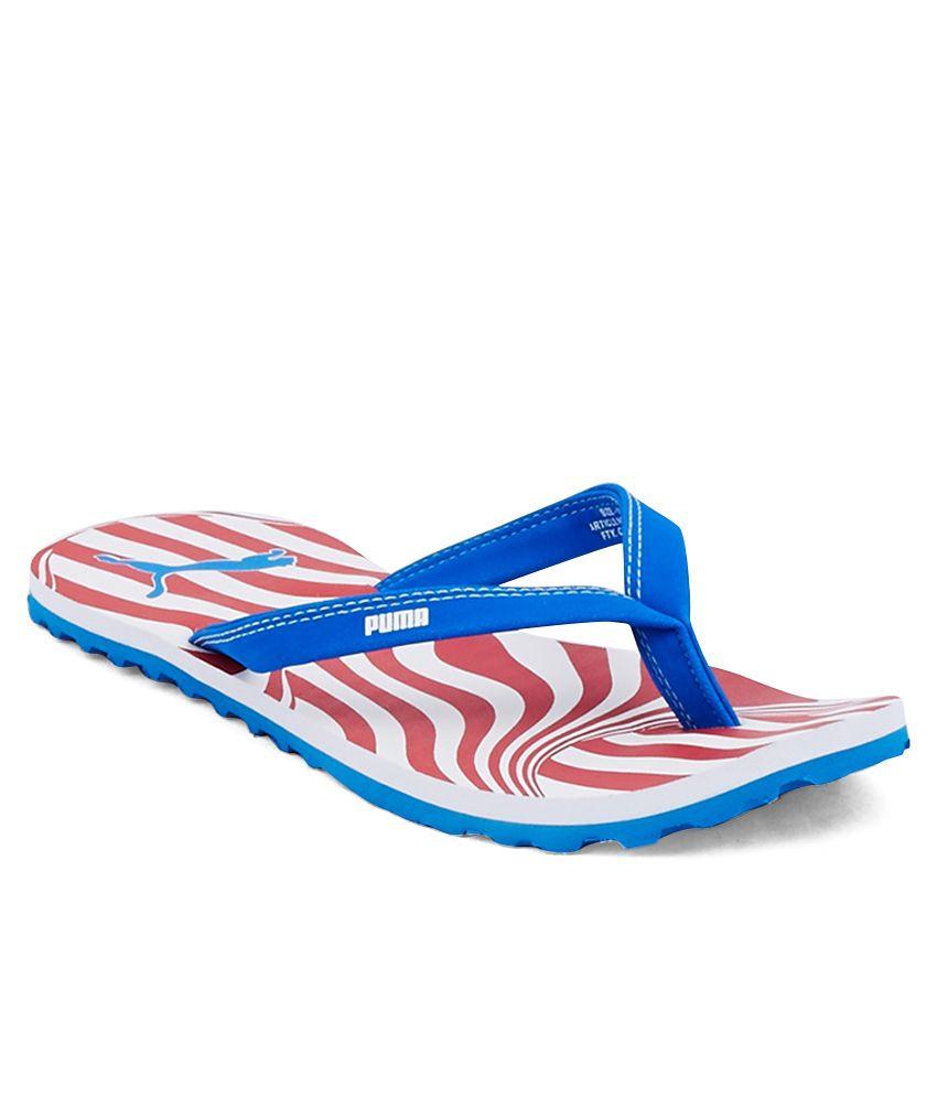 Puma Charon Blue Slippers