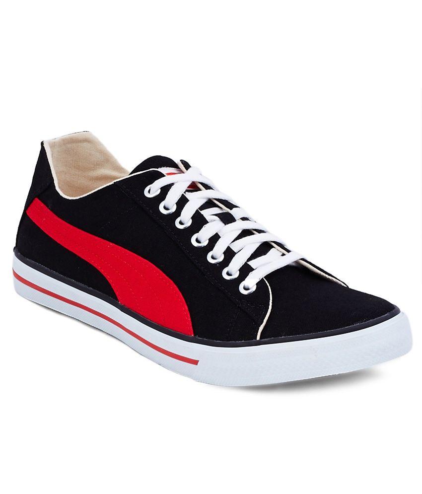 585b2244c77 Puma Black Canvas Shoes Price in India