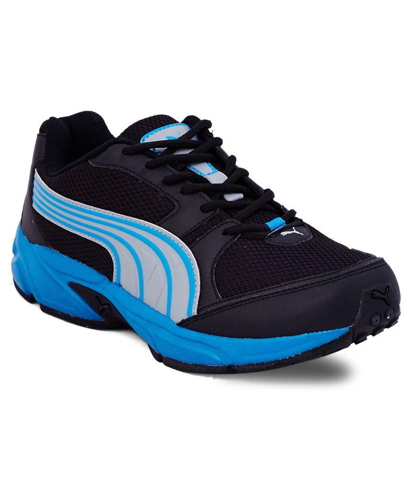 Puma Huelga De La Moda Ii Zapatillas De Deporte Negras Y Azules MuEPoin