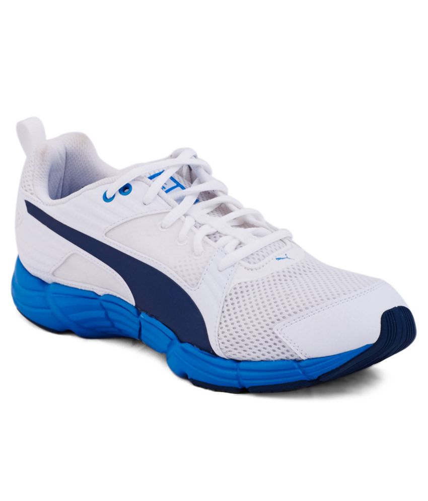Puma Synthesis White Sport Shoes