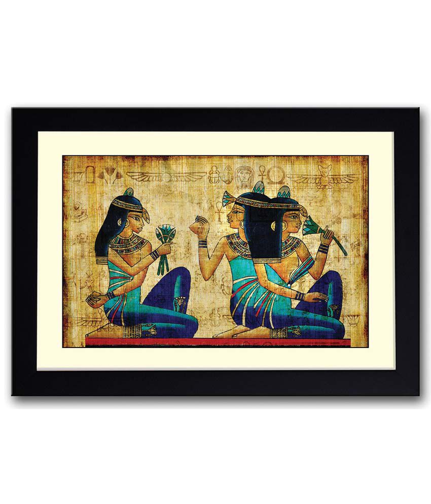 Artifa ancient egypt art wooden framed poster buy artifa for Where to buy framed art