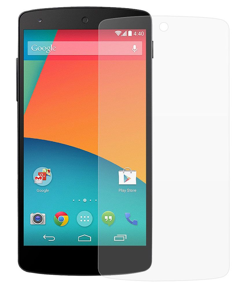 Oxygen Hd Tempered Glass Screen Guard For Google Nexus 5