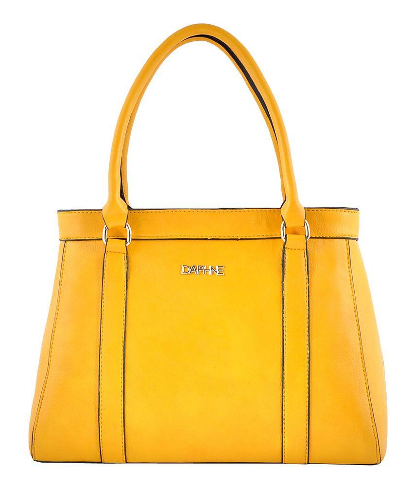 Daphne Yellow Shoulder Bag