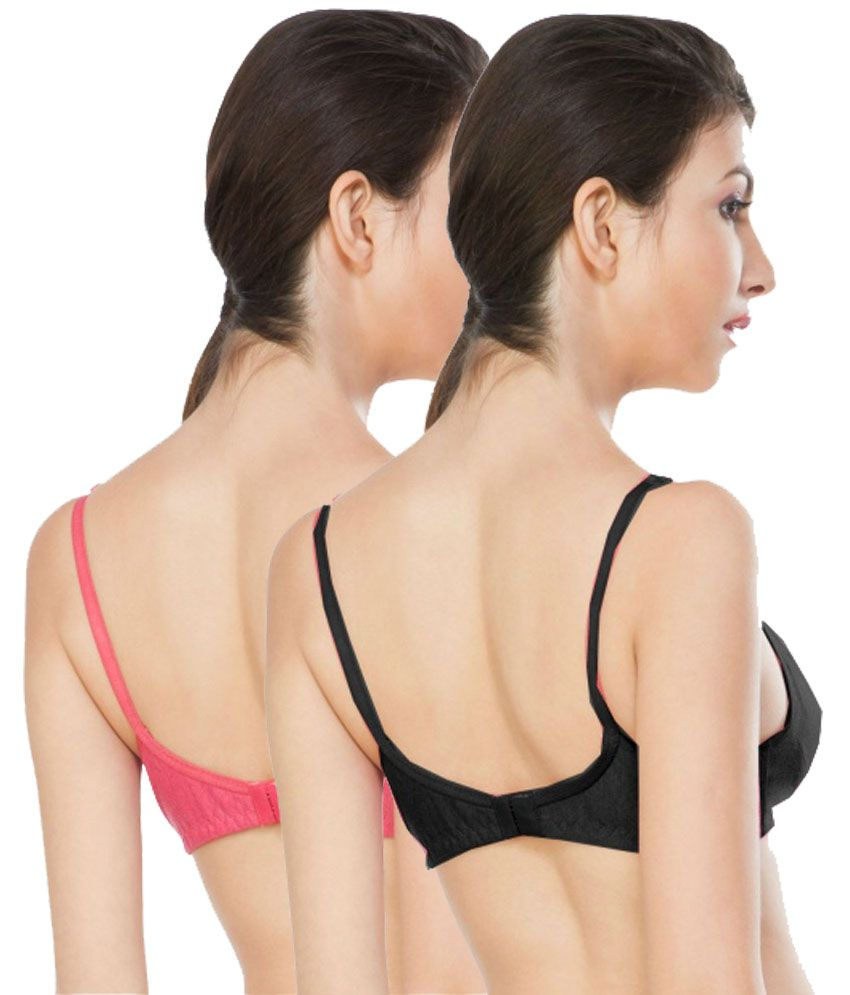 1dd1596c62 Buy Nagina Black Bra Online at Best Prices in India - Snapdeal
