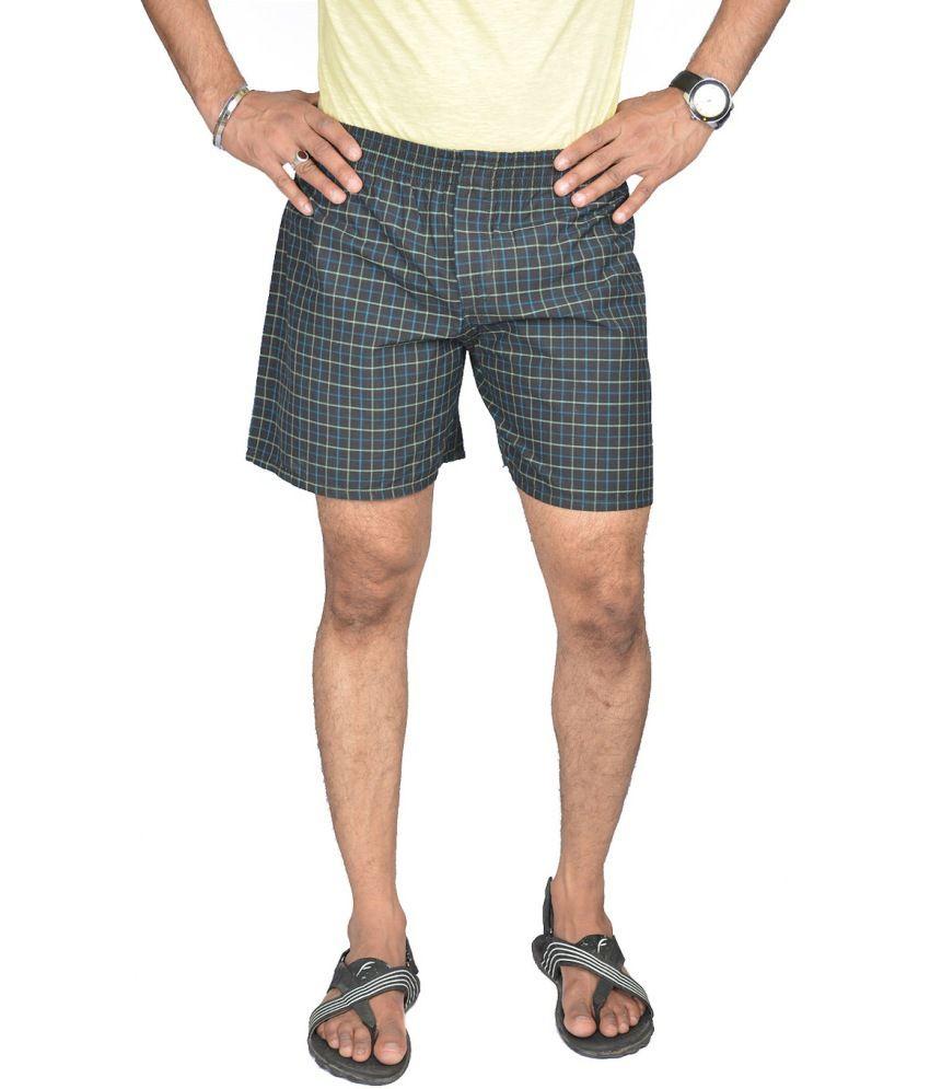 P.s Black Cotton Short