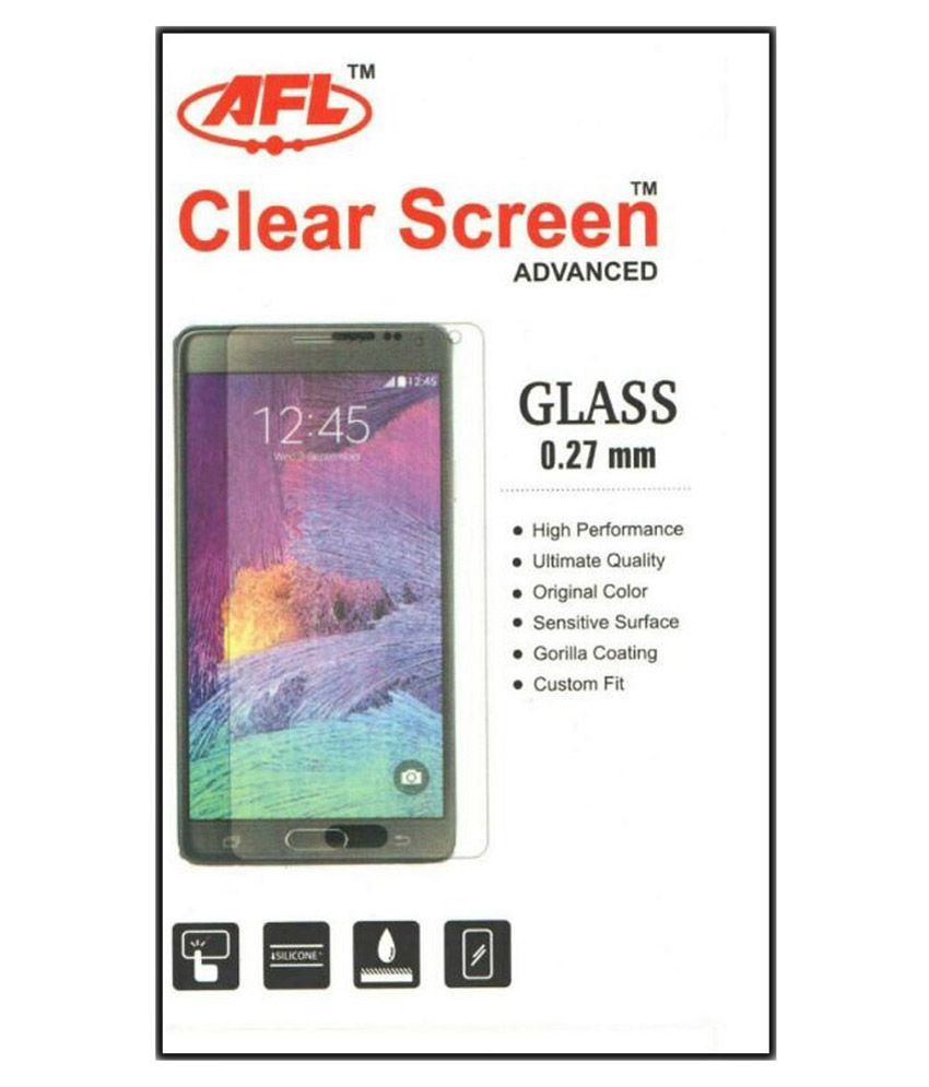 AFL 9h HD Tempered Glass Screen Guard for Vivo X5max