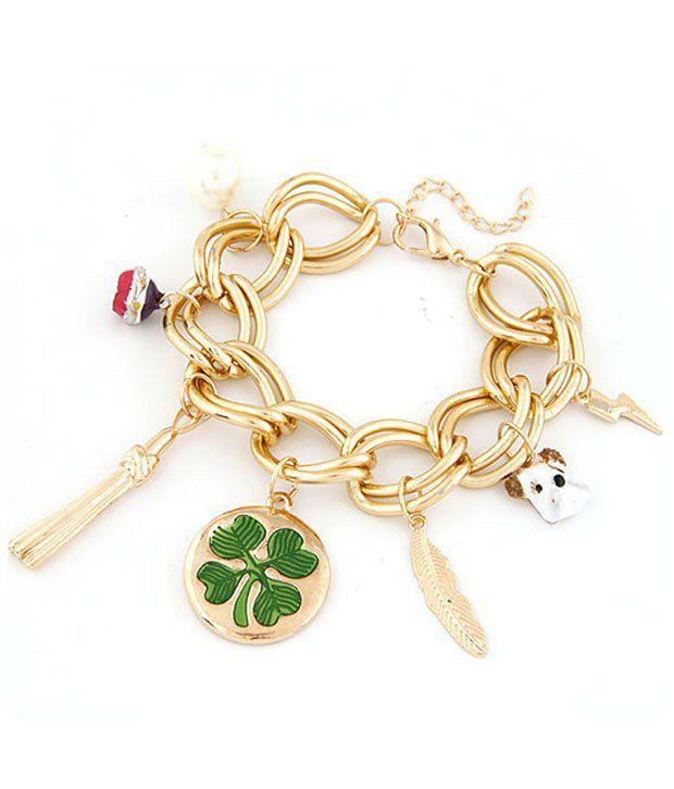 Cinderella Fashion Jewelry  Multicoloured Bracelet for Women