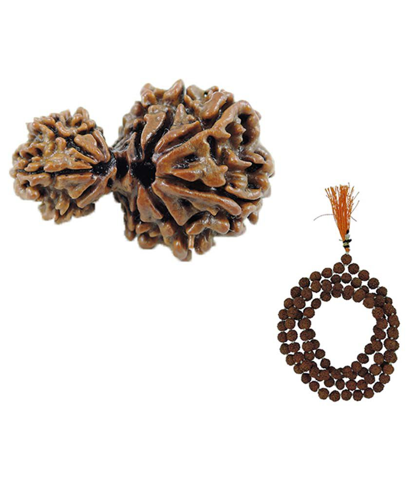 how to wear 5 mukhi rudraksha mala