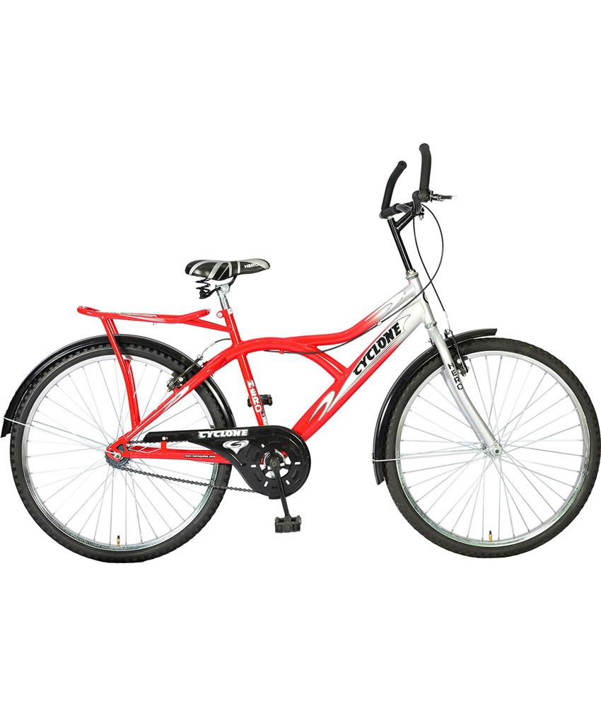 Hero silver red cyclone 26t adult mountain bicycle buy for How to buy a mountain
