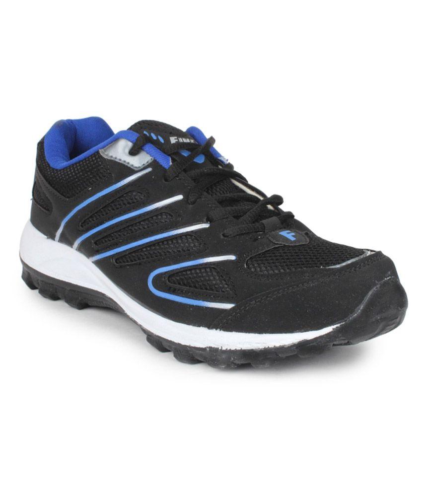 black sport shoes price in india buy black