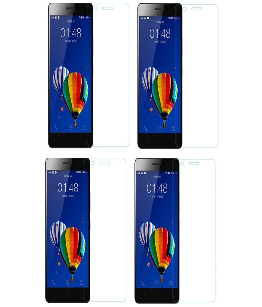 Motorola Moto G 3rd Gen Set Of 4 Clear Screen Guard by Kosher Traders