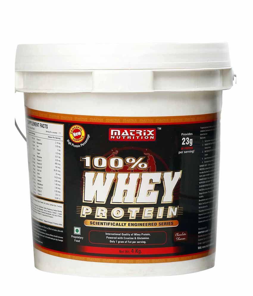 Matrix Nutrition 100 Whey Protein 4 Kg Buy