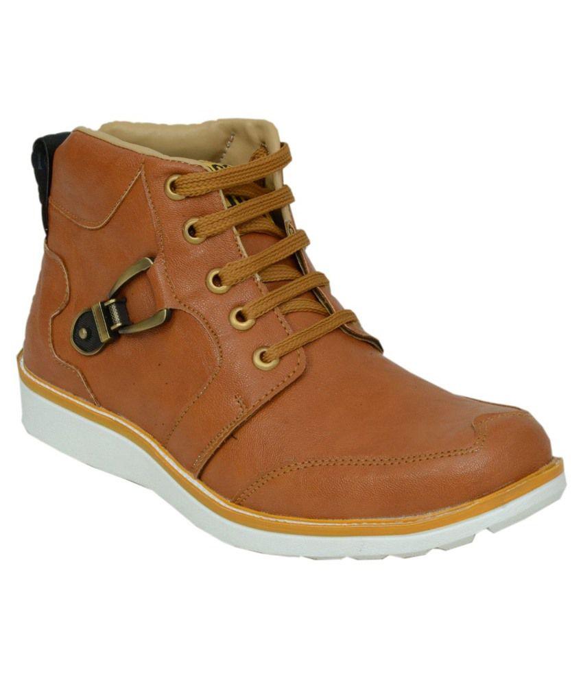 Salvi Tan Boots