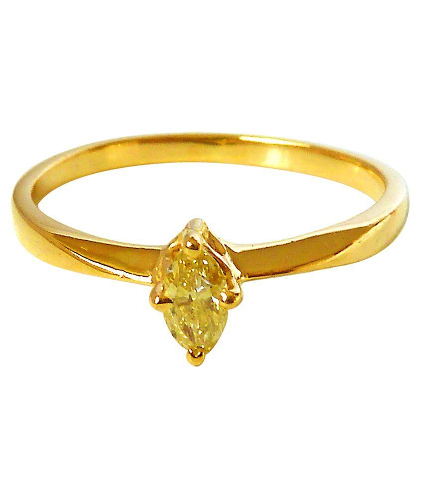 Surat Diamond 18kt Gold Diamond Ring