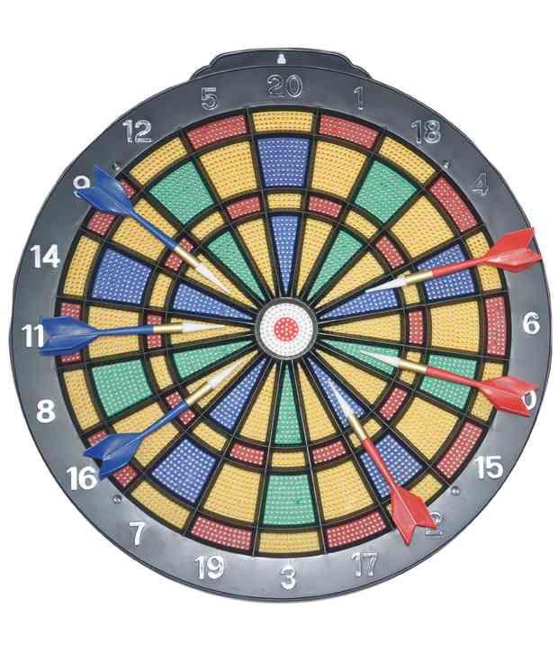 Jouet Black Plastic Dart Game
