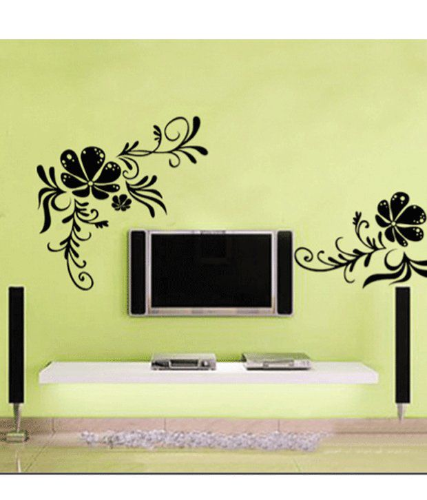 Wall Art Stickers Vector : Studio briana floating musical notes on big