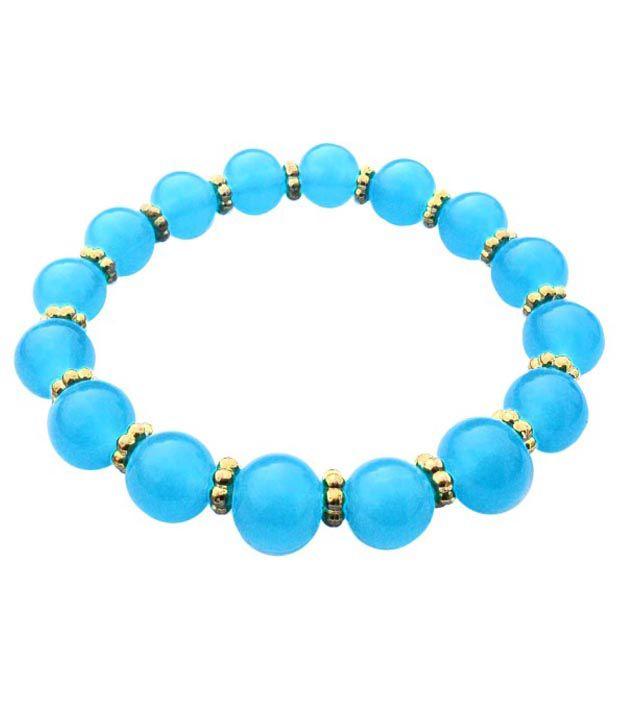 Beadworks Blue Bracelets