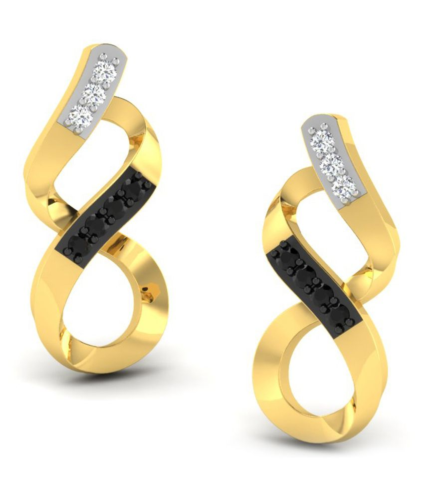 His & Her 18kt Gold Diamond Studs