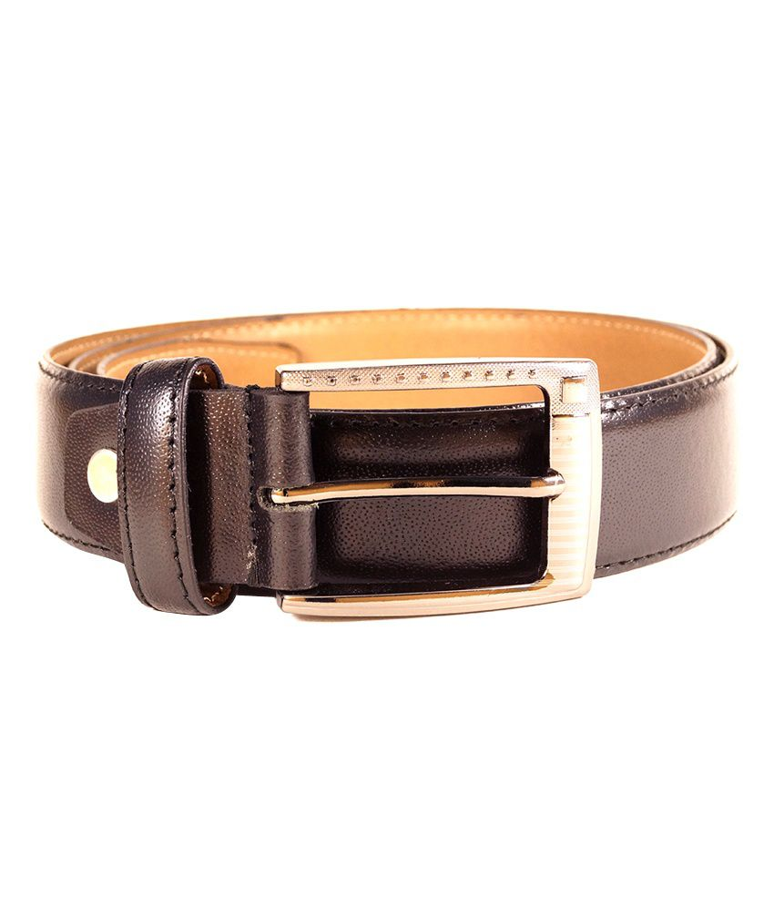 Tasset Black Leather Belt