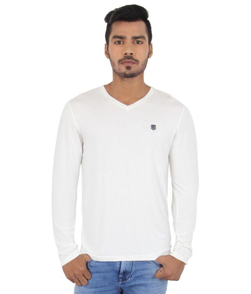 Killer White Cotton T Shirt