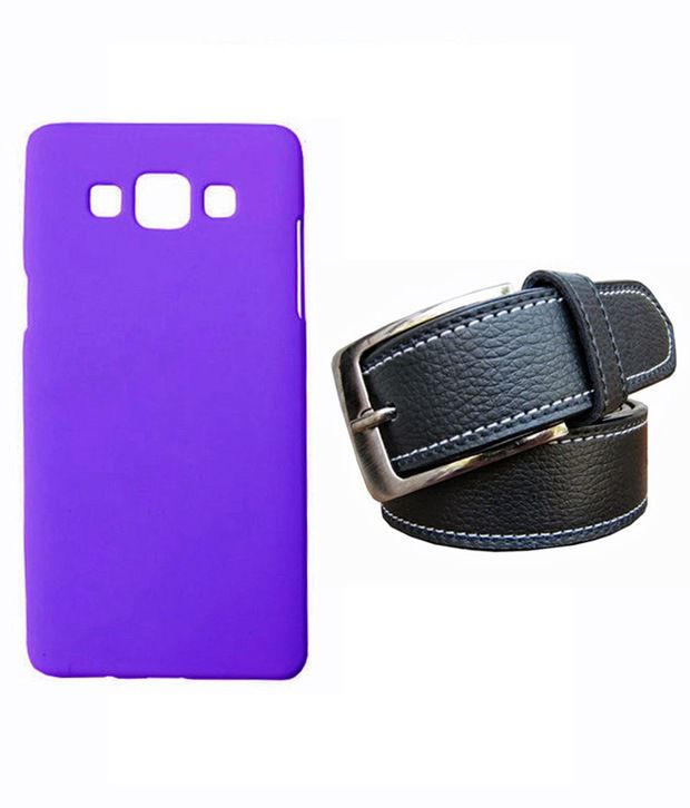 Winsome Deal Black Belt with Back Cover Case for Samsung Galaxy A5 A500