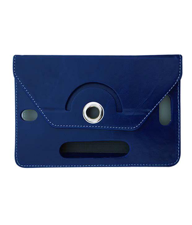 Fastway Tablet Flip Case For Lenovo S-5000 Tablets (16GB WiFi 3G) -Blue