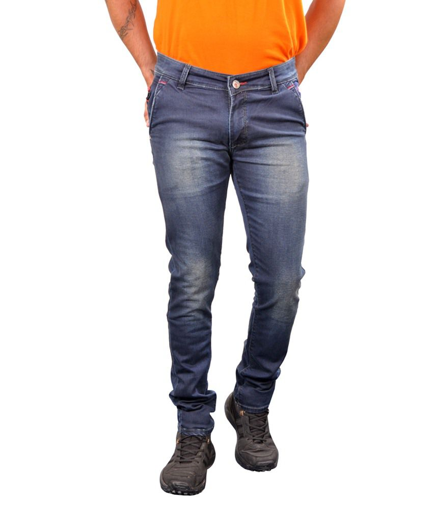 Paranoid Navy Slim Fit Jeans