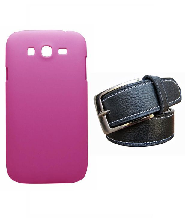 Winsome Deal Black Belt with Back Cover Case for Samsung Galaxy Grand Neo i9060