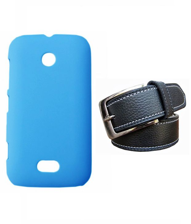 Winsome Deal Black Belt with Back Cover Case for Nokia Lumia 510