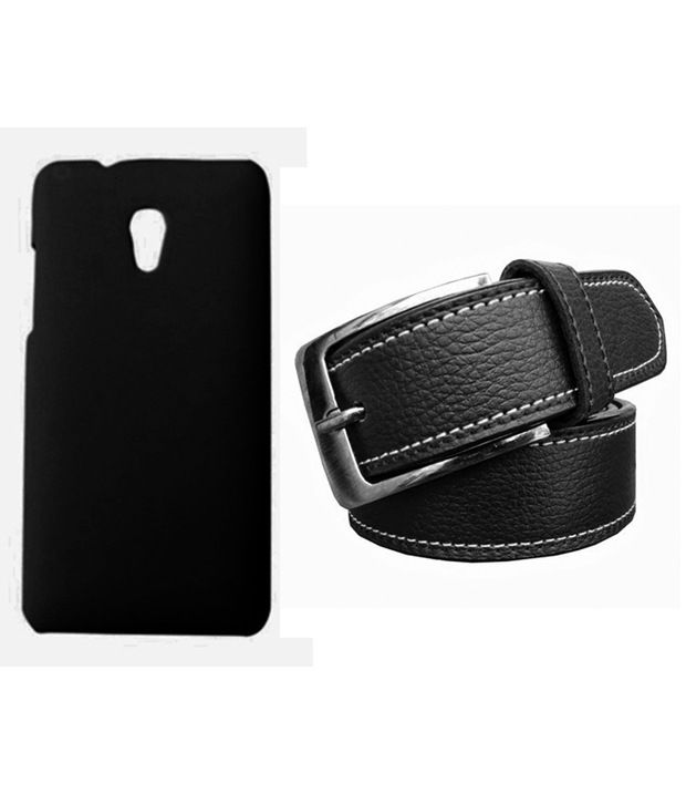 Winsome Deal Black Belt with Back Cover Case for HTC Desire 700