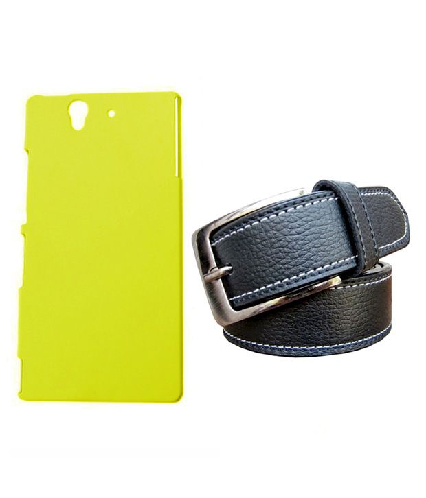 Winsome Deal Black Belt with Back Cover Case for Sony Xperia Z