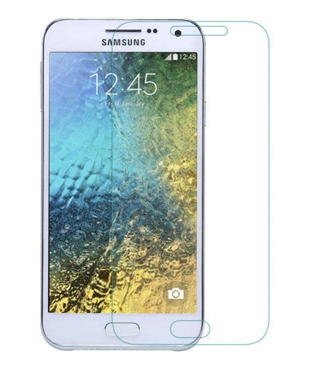 Samsung Galaxy E5 Tempered Glass Screen Guard by ZYME