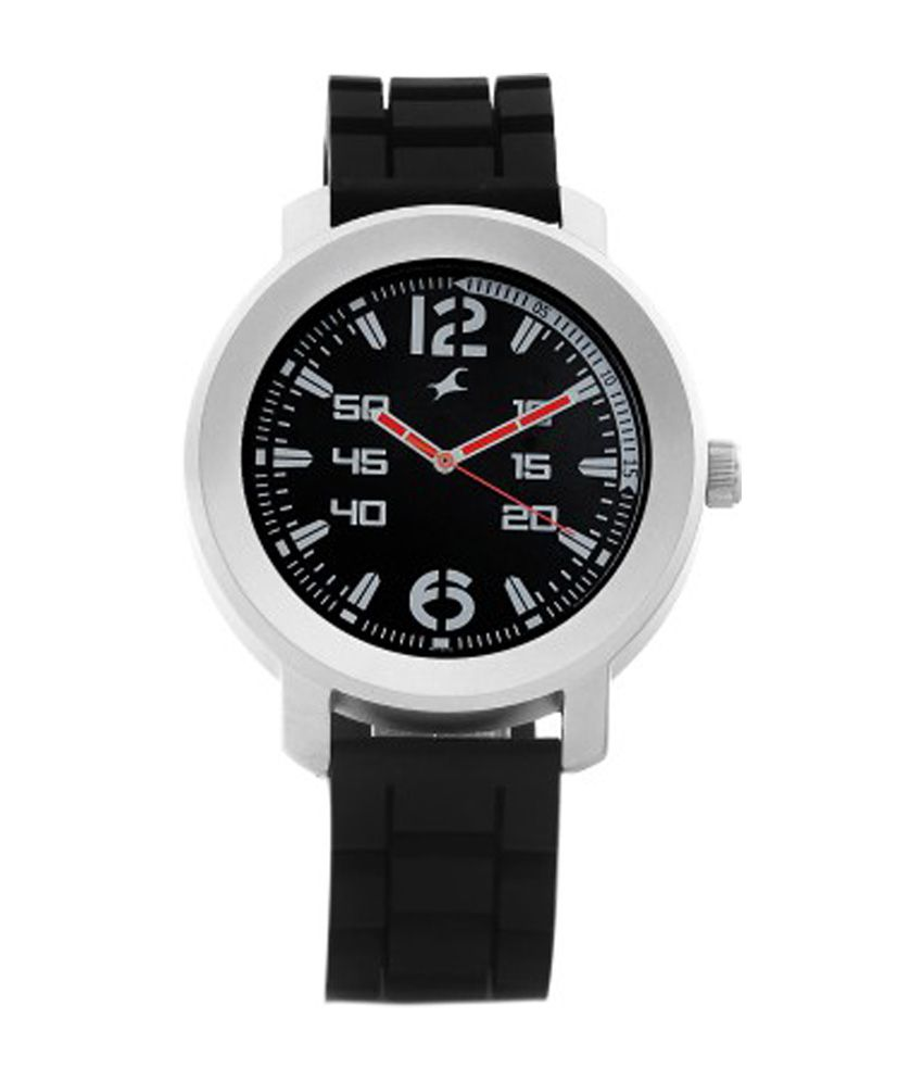 Fastrack Black Dial Watch for Men
