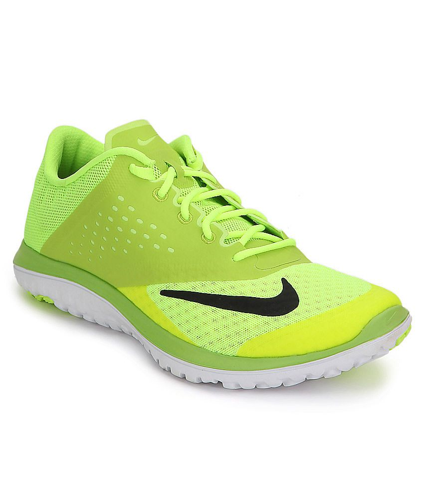 713c857c0a7 Nike Fs Lite Run 2 Green Sports Shoes - Buy Nike Fs Lite Run 2 Green Sports  Shoes Online at Best Prices in India on Snapdeal