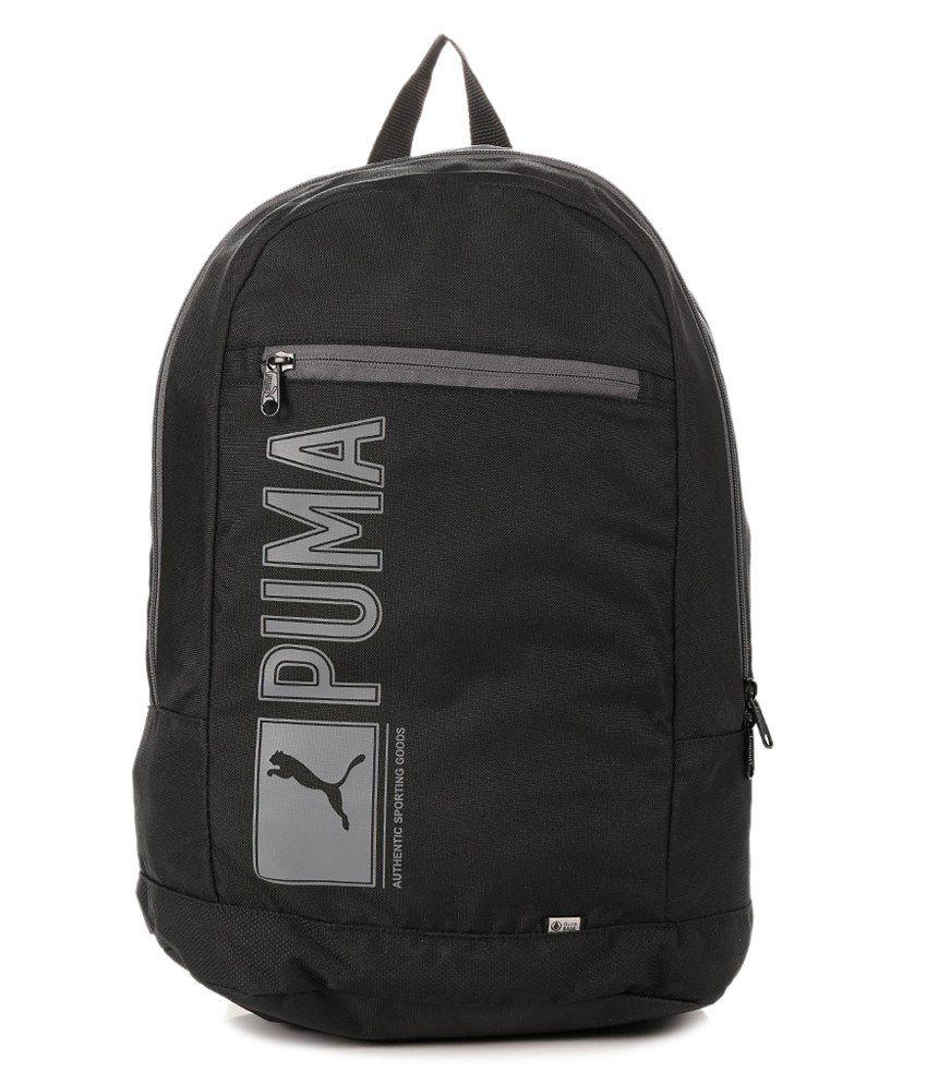 Puma Apex Black Backpack   Black Wallet Combo  Buy Online 2c77a51436