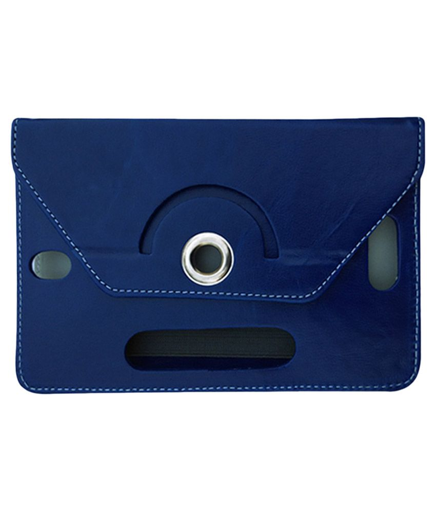 Fastway Flip Stand Cover For Zync Z99 2G Calling Tab - Blue
