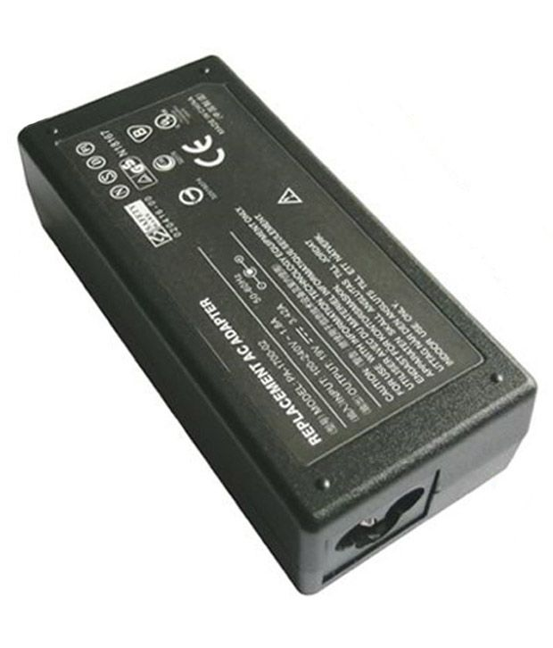 Lapster 65 W Adapter For Lenovo G550 G560 Y300 - Black