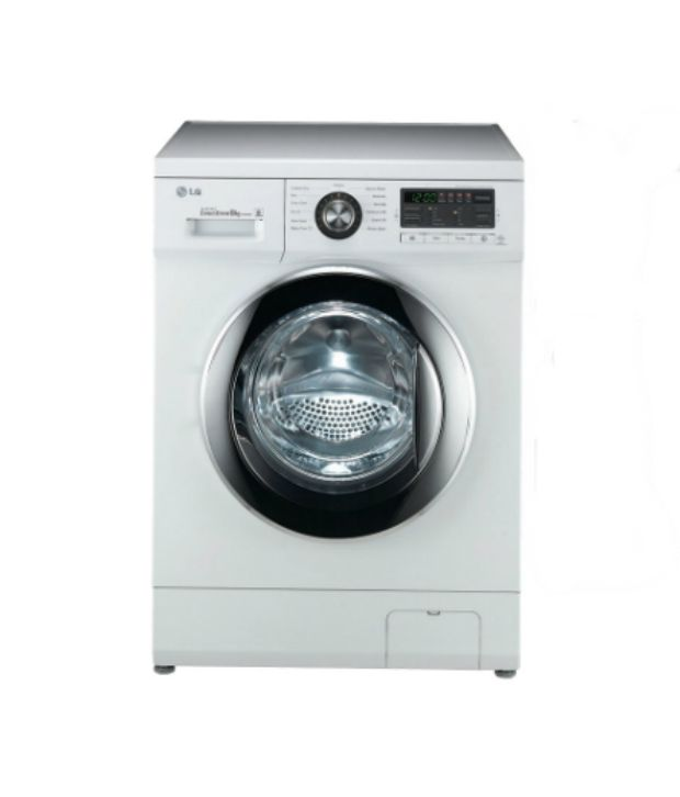 LG 8 Kg F1496TDP23 Fully Automatic Front Load Washing Machine White