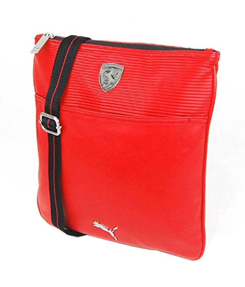 Puma Ferrari 7348902 Red Sling Bag Puma Ferrari 7348902 Red Sling Bag ... 2f491d922a6ca
