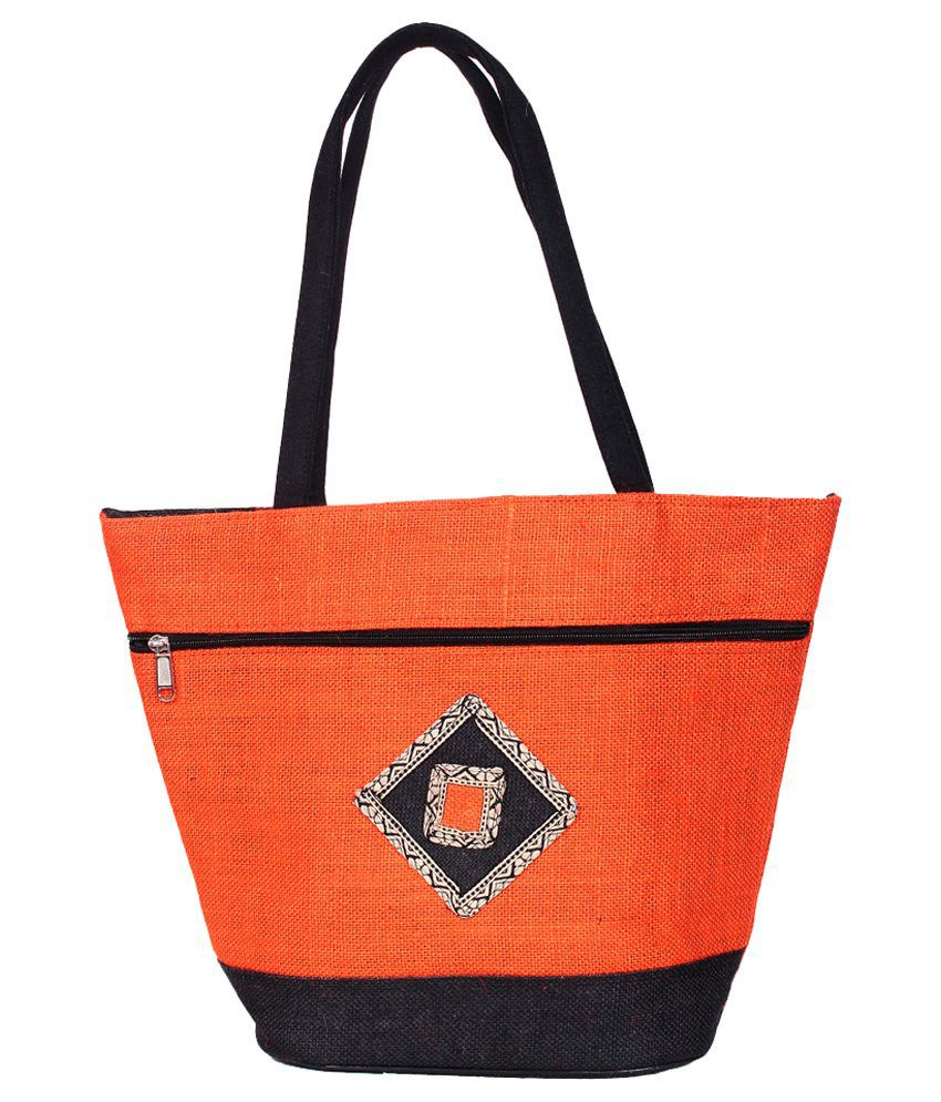 Ijay Fashion Orange Shoulder Bag
