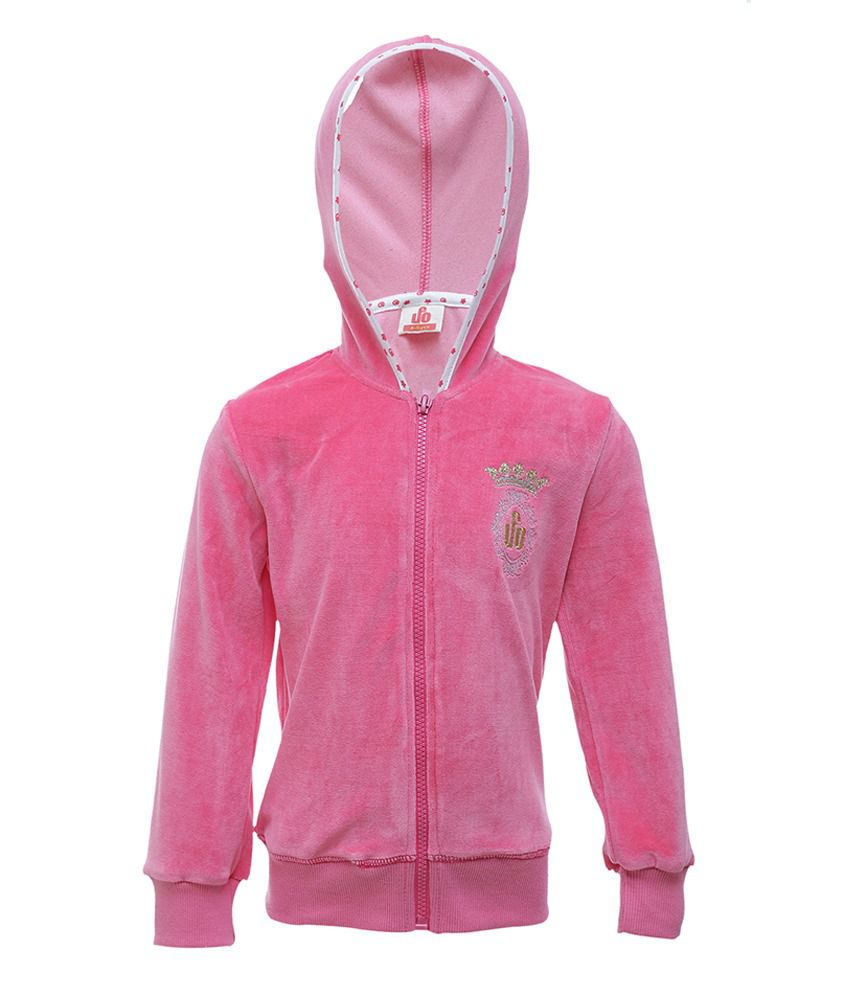 UFO Pink Full Sleeves Casual Jacket