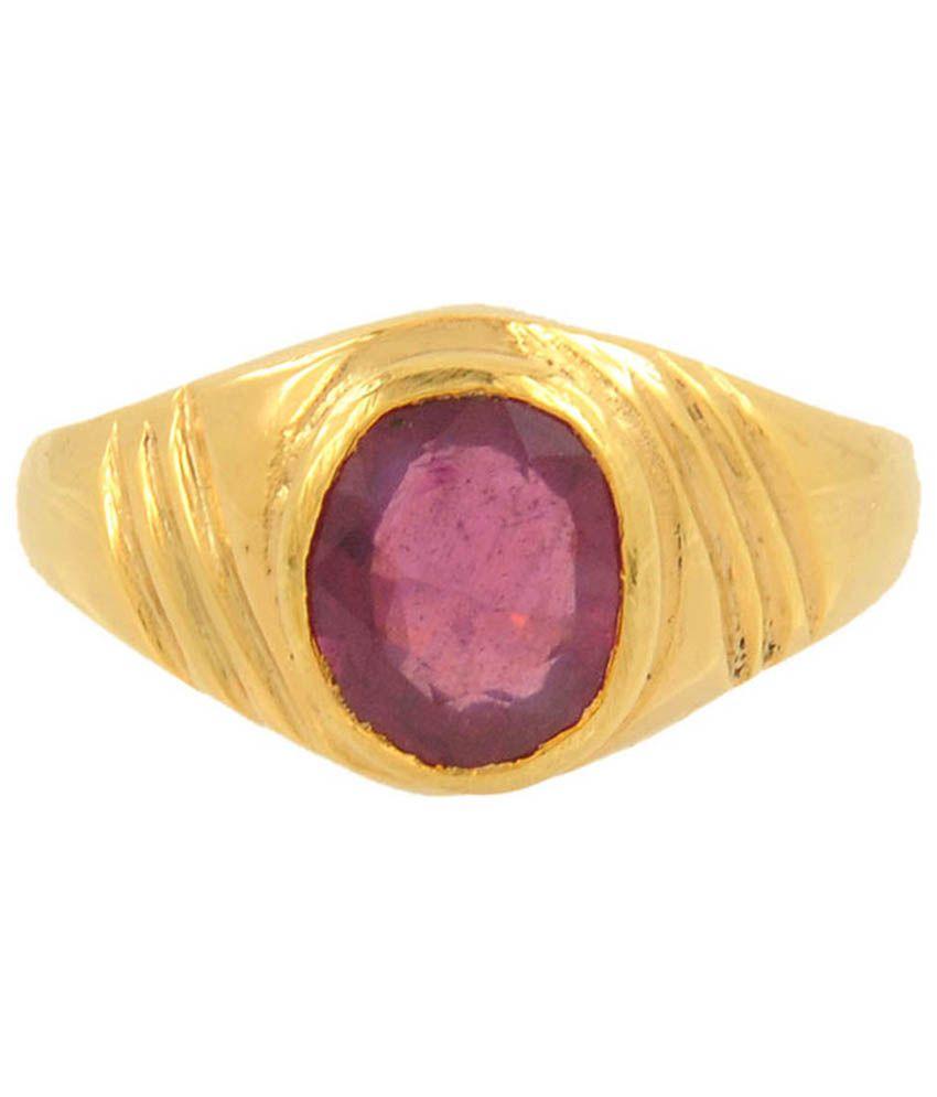 Avaatar 3.50 Ratti Ruby Gemstone Ring