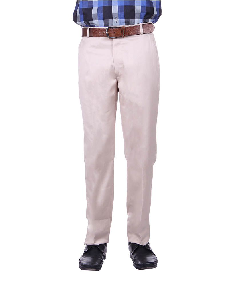 Protext Trouser Off-White Formals Trouser