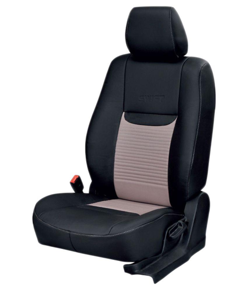 elaxa seat cover for maruti esteem black buy elaxa seat cover for rh snapdeal com