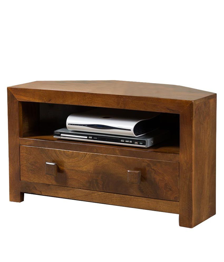 Corner Exhibition Stands Near Me : Small tv corner stand in brown buy