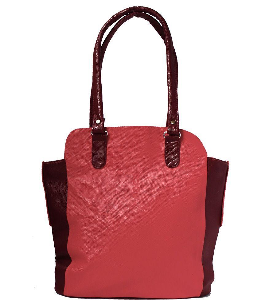 Austin Klein Red Shoulder Bags
