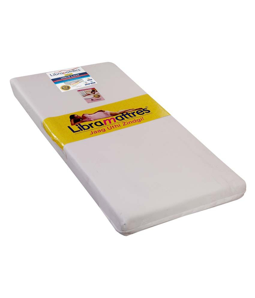 Libra Paedics Queen Ultra Luxe Memory Foam Mattress 75x 60 X 5