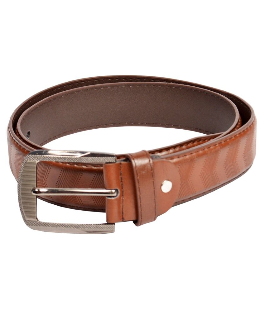 Dandy Bronw Non Leather Belt