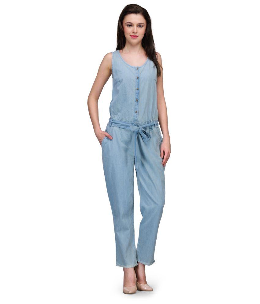 6ea54fb2702 Kiosha Blue Denim Jumpsuits - Buy Kiosha Blue Denim Jumpsuits Online at Best  Prices in India on Snapdeal